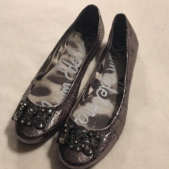 Sam Edelman Shoes - Sam Edelman embellished ballet flats sz 8.5